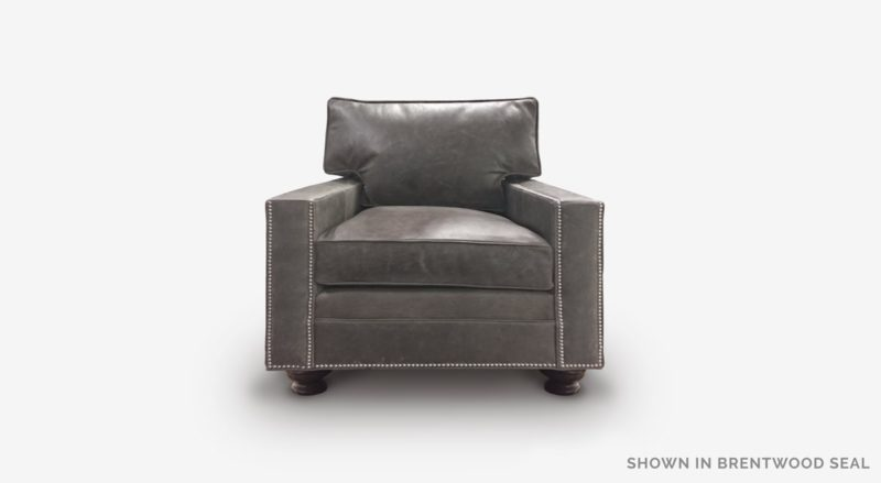 Heston Chair In Brentwood Seal Leather