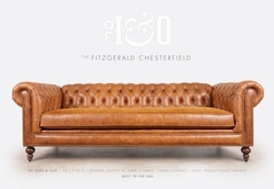 Fitzgerald Chesterfield Austin 2488 Como Cognac