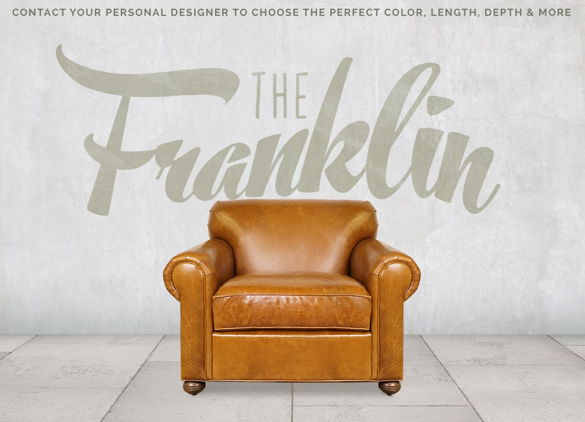 Franklin Tight Back Roll Arm Lawson Style Armchair