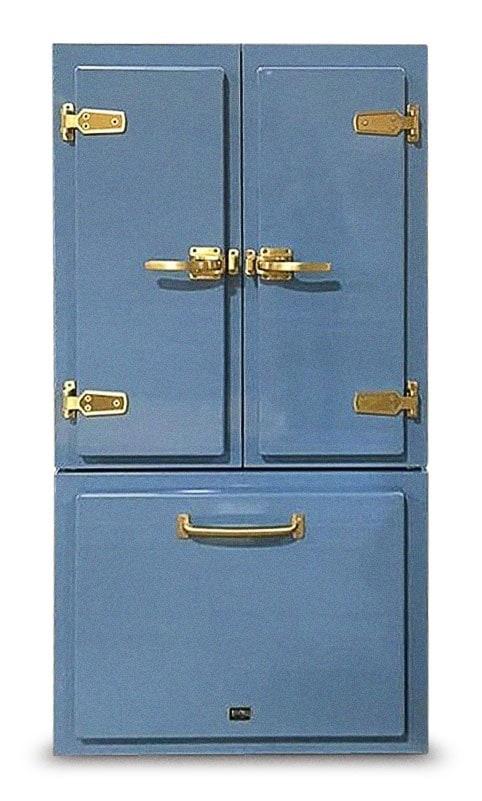 Big Chill Classic Pale Blue Refrigerator