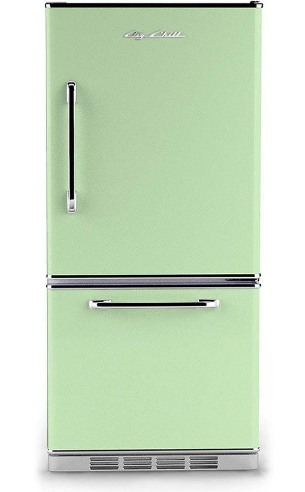 Big Chill Retro Mint Green Refrigerator