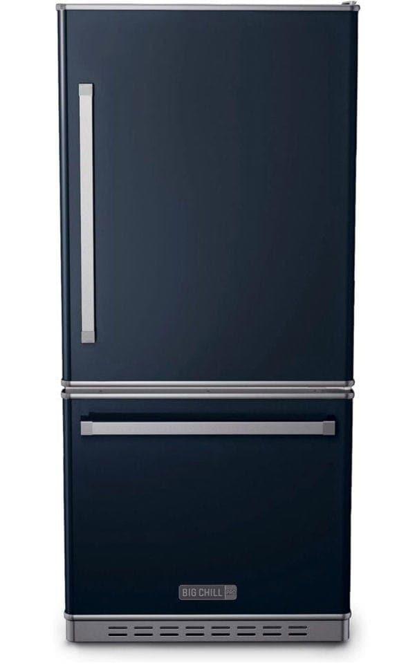 Big Chill Classic Navy Blue Refrigerator