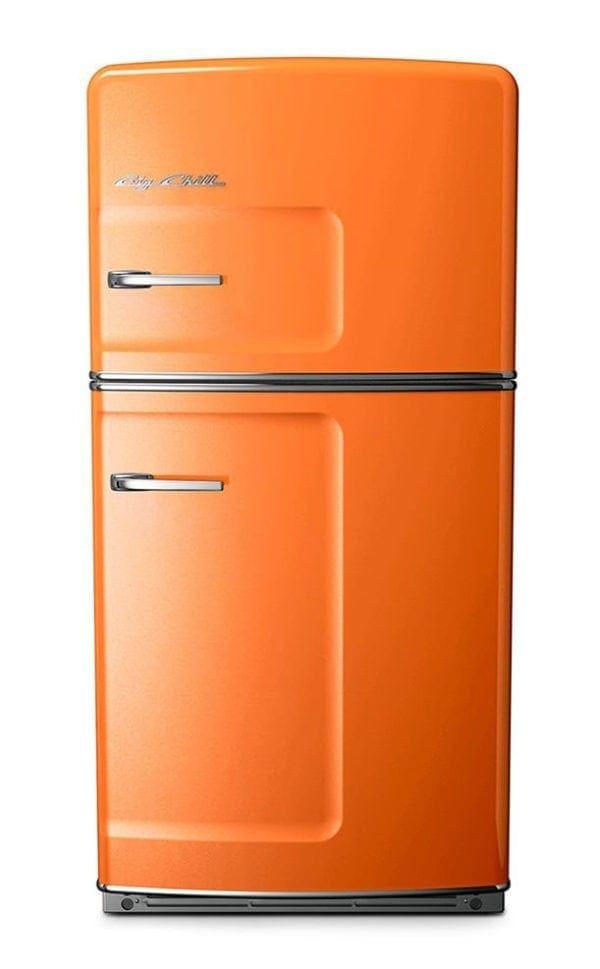 Big Chill Retro Orange Refrigerator