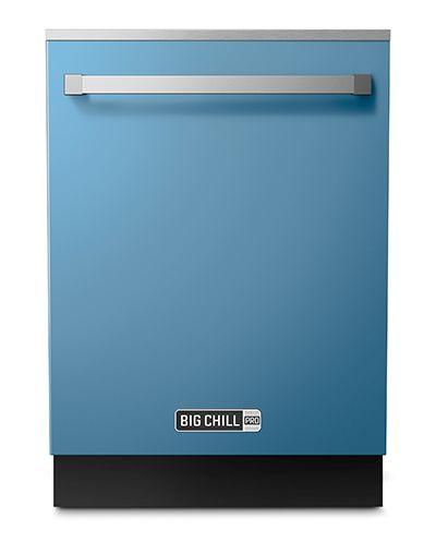 Big Chill Pro Blue Dishwasher