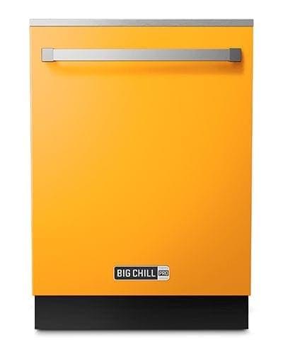 Big Chill Pro Yellow Dishwasher
