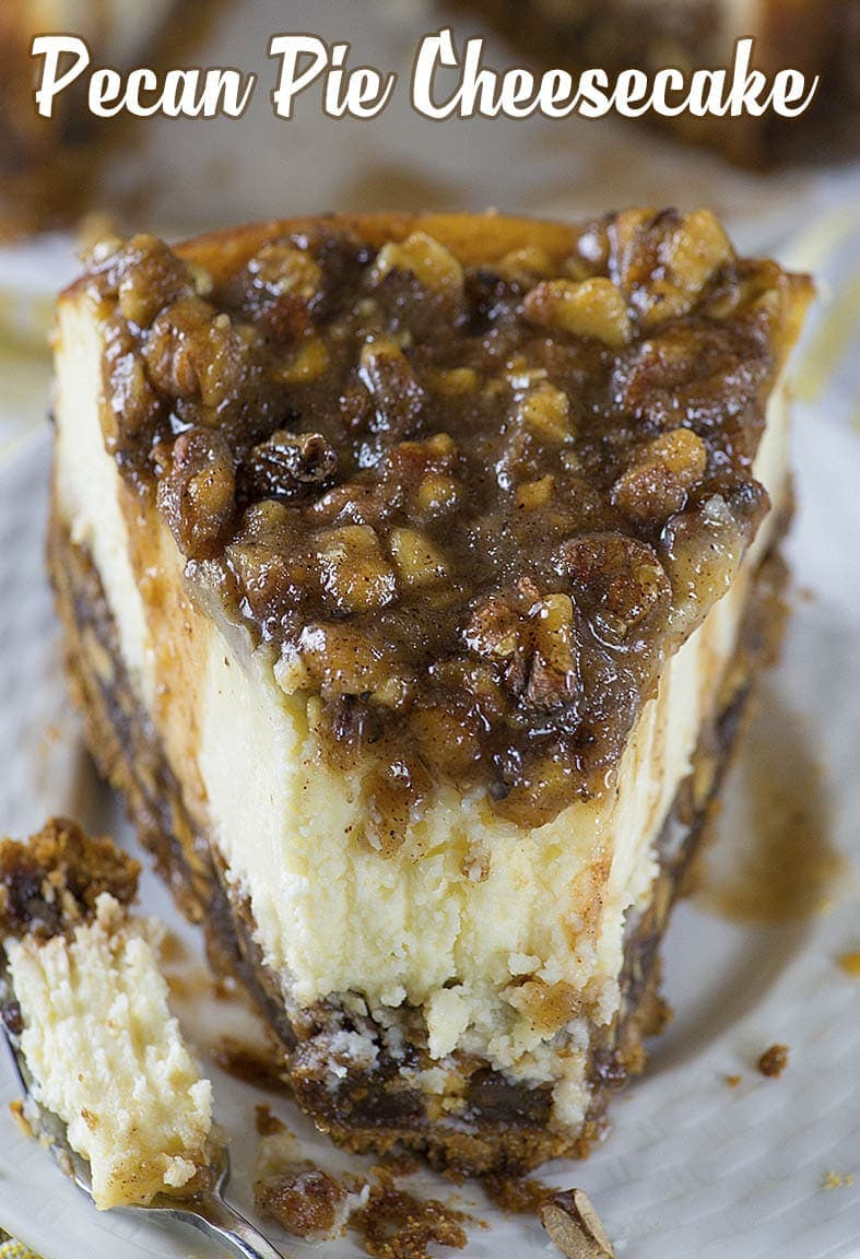 You'll never go back to your old pecan pie after trying this Pecan Pie Cheesecake