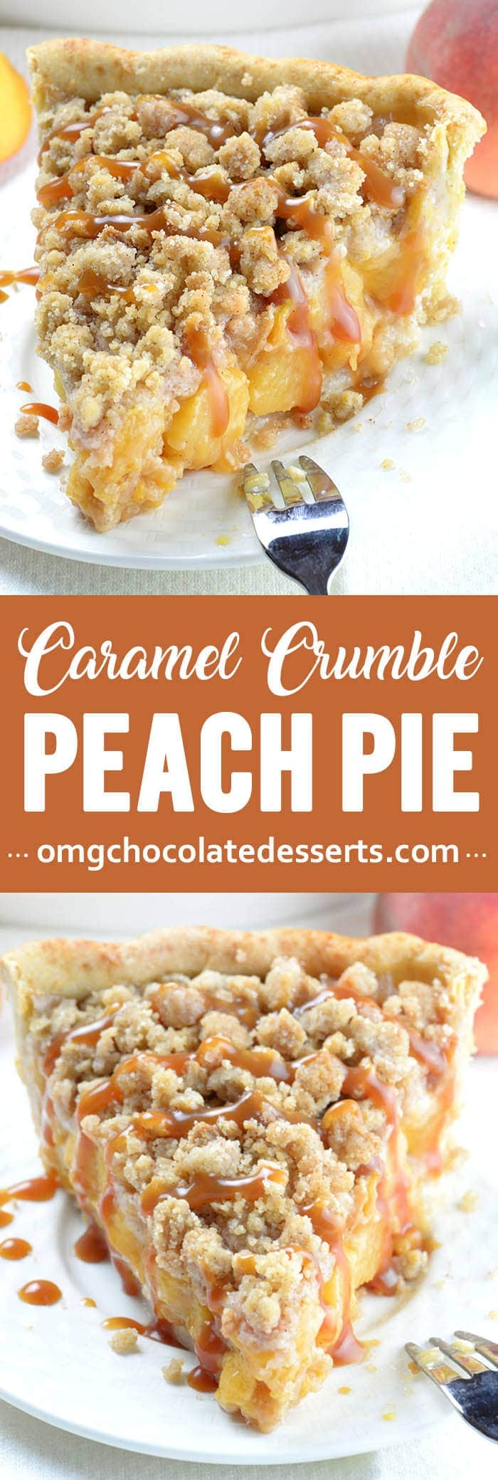 If peach cobbler and peach pie got married, this Peach Crumb Pie would be their baby. It tastes just like summer should.