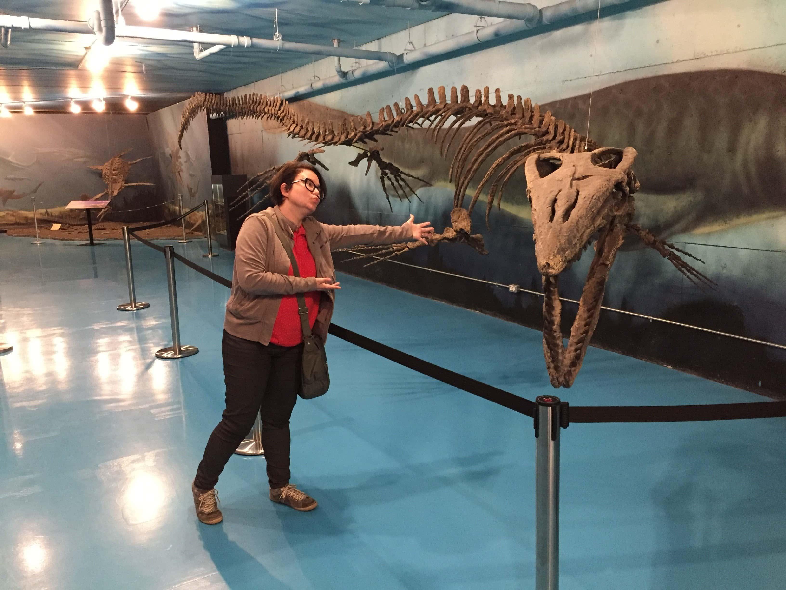 Betsy a Pleasiosaur