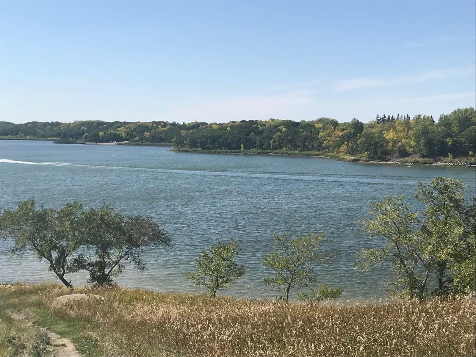 Lake Minnewasta in Morden