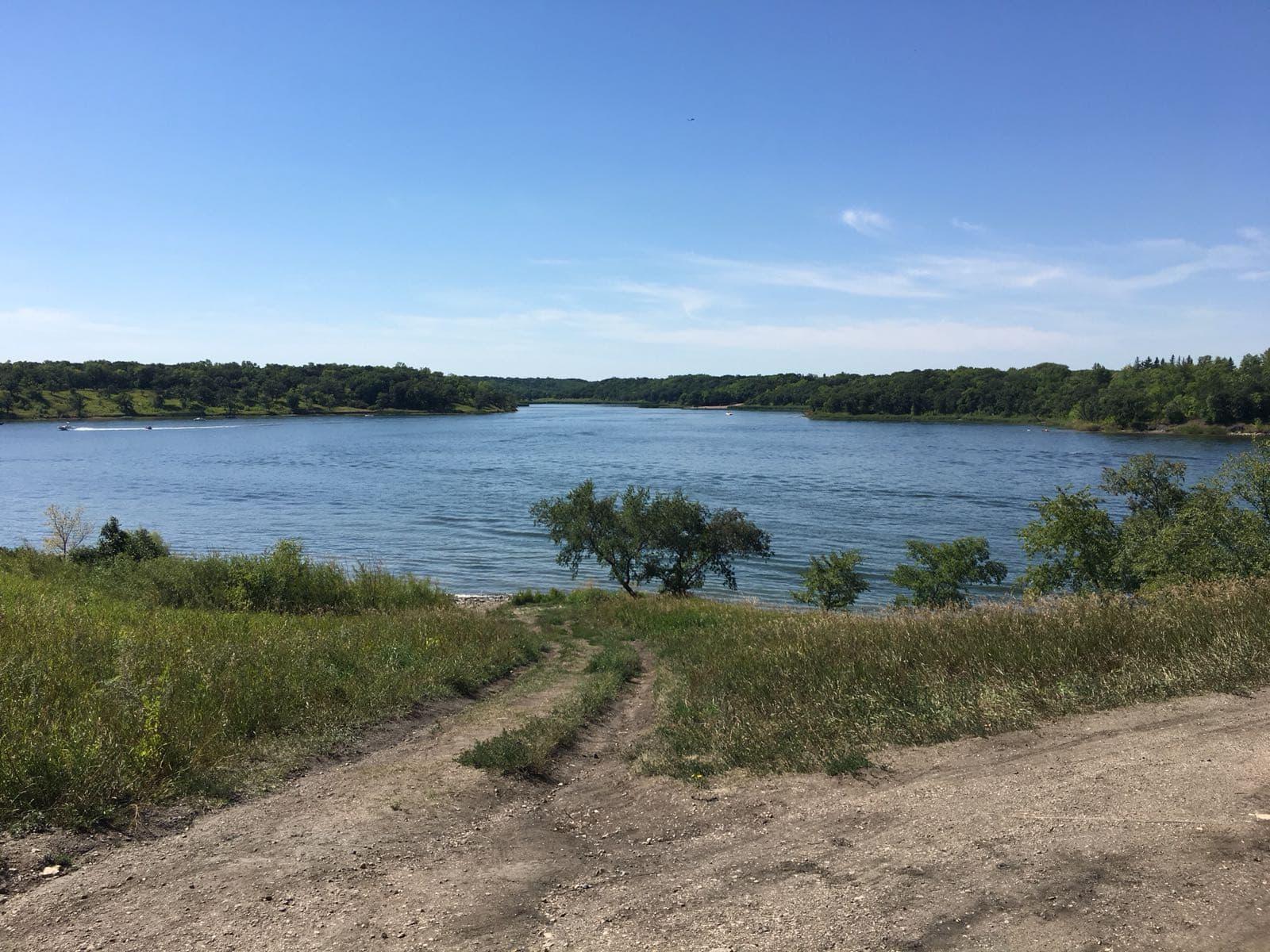 Lake Minnewasta view