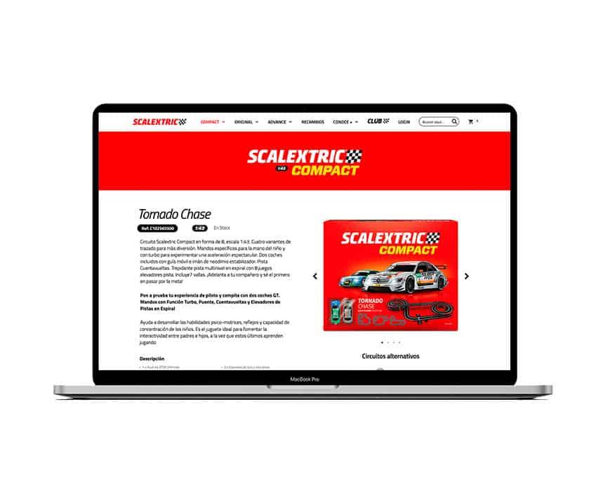 SCALEXTRIC CIRCUITOS COMPACT