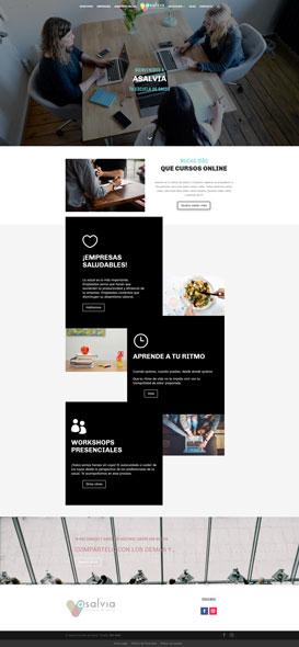 diseño web para Asalvia