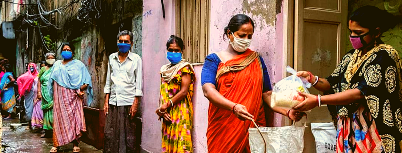 Meet the woman serving one million meals to India's sex workers during the pandemic