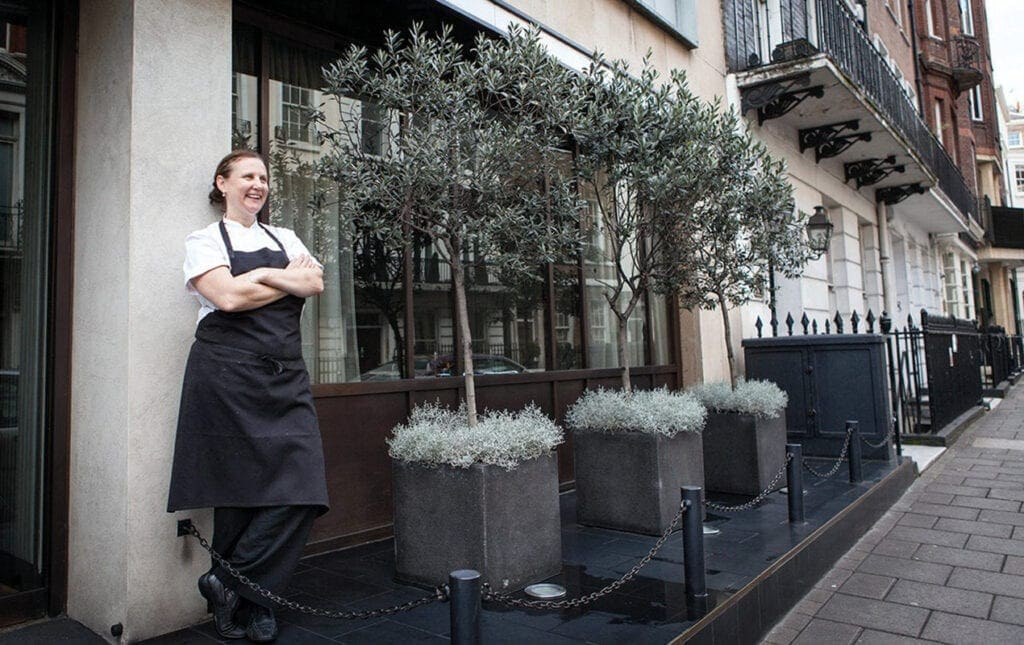 Chef Angela Hartnett on staying ahead of the London dining scene