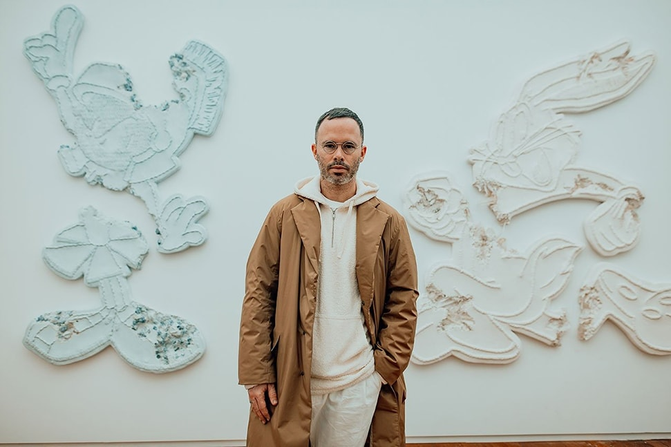 Daniel Arsham Eroded Patches. Exhibition view at Moco Museum in Amsterdam. Photo by Isabel Janssen