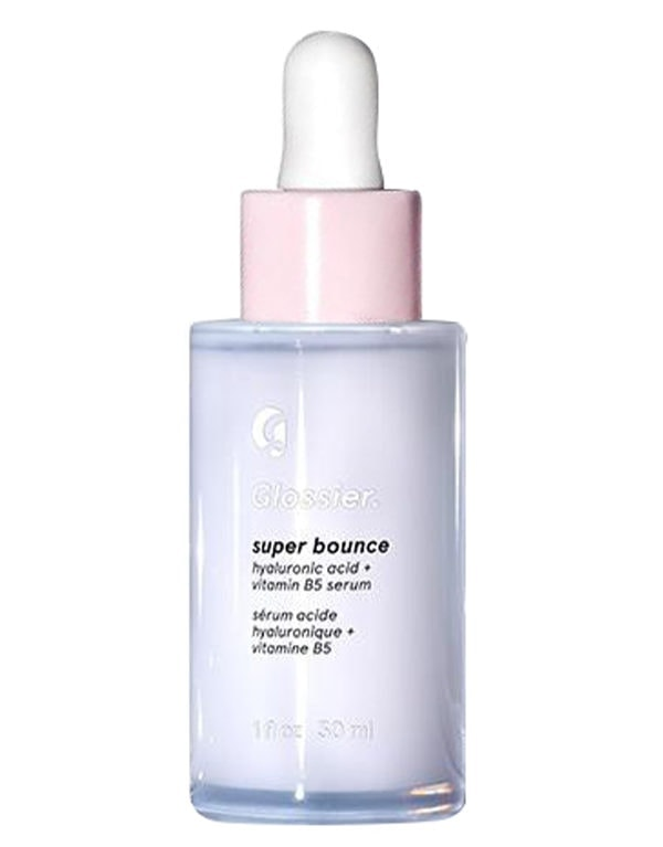 Glossier Super Bounce Hyaluronic Acid, part of Amy Jackson's beauty regime