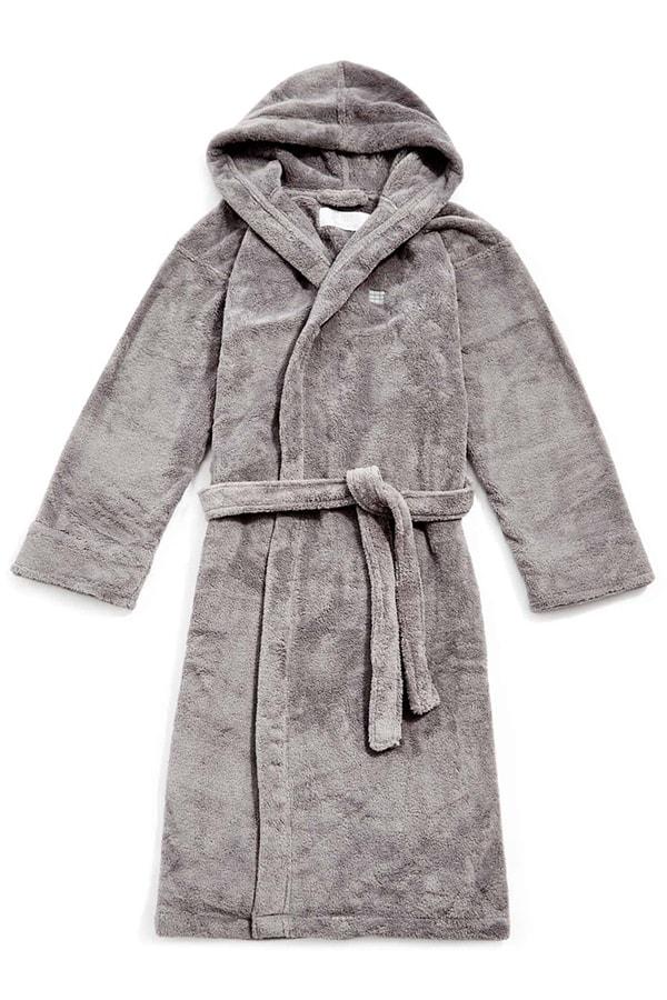 Soho Home House fleece dressing gown
