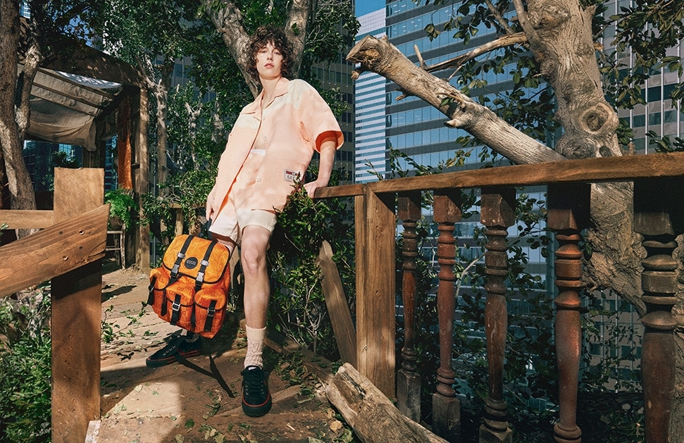 Singer-songwriter King Princess stars in the new Gucci Off The Grid collection campaign
