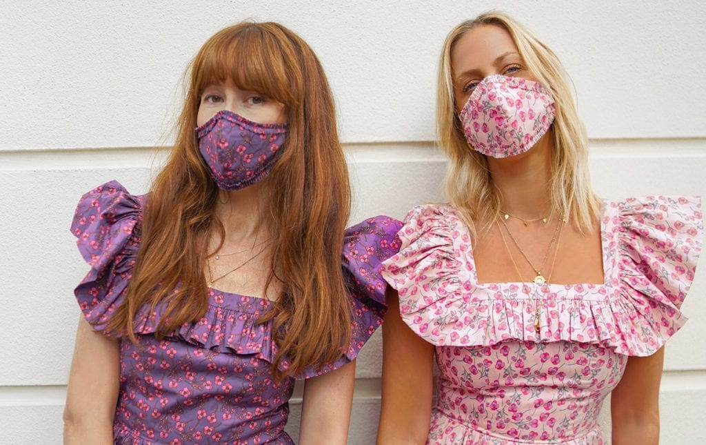 Why matching your face mask to your outfit is the summer's hottest trend