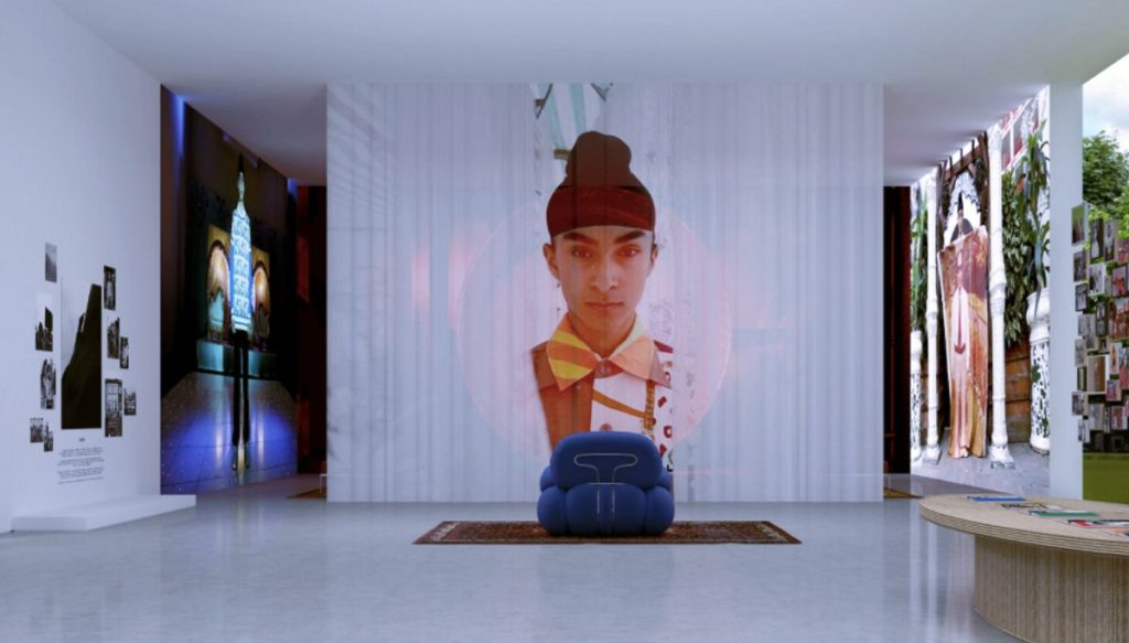 A range of works from Priya Ahluwalia's digital art sale