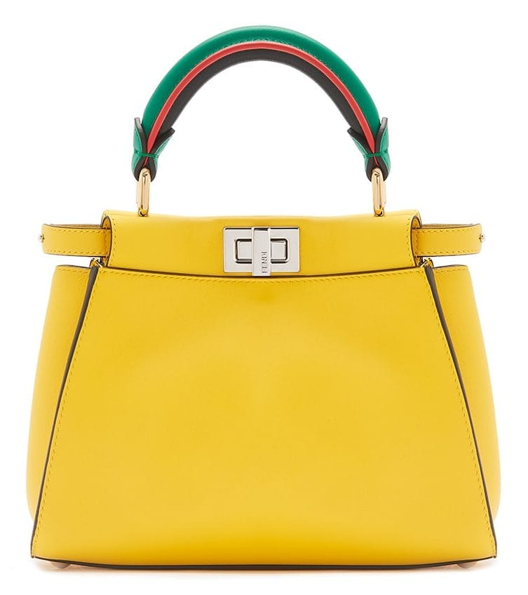 These are the chicest fashion pop-ups in London to visit this season 190603 Fendi MTO Peekaboo Yellow Leater 2 28875 e1596751563702