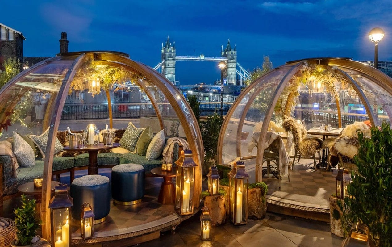 London's 17 best outdoor restaurants and terraces to book this winter
