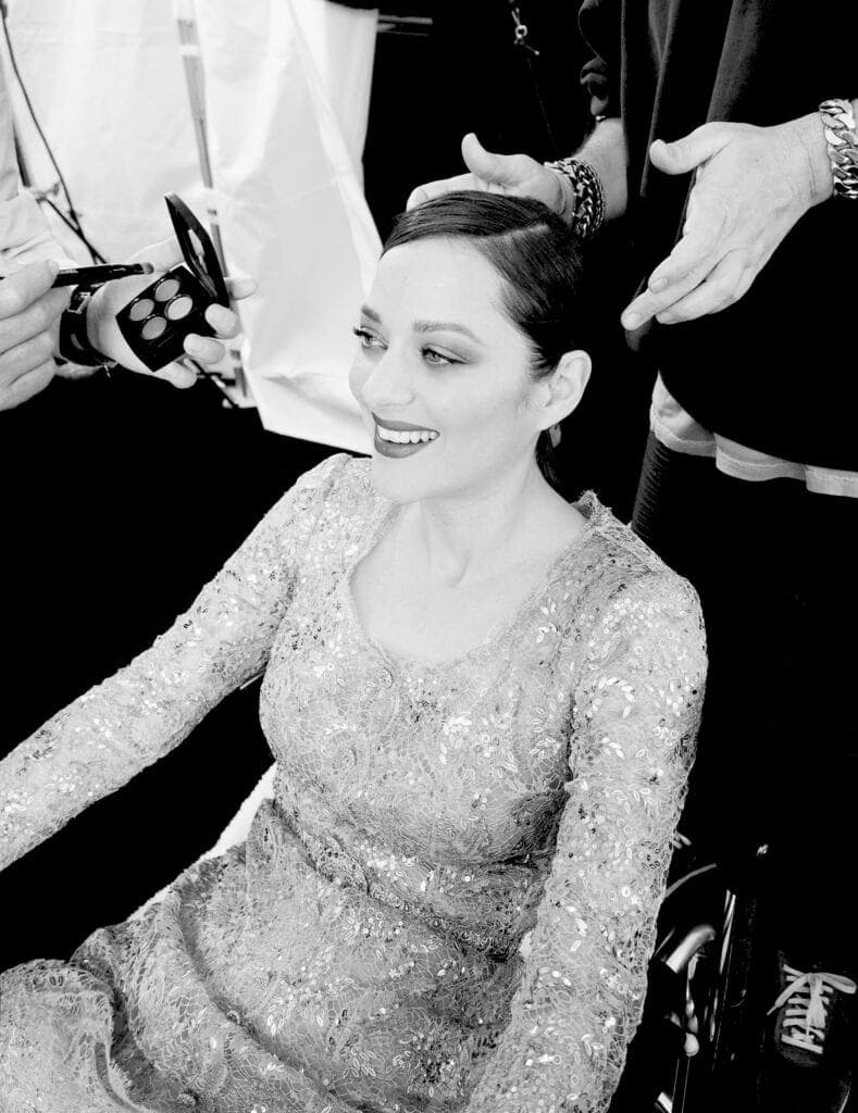 Take a behind the scenes look at Chanel No. 5's 100th birthday campaign starring Marion Cotillard