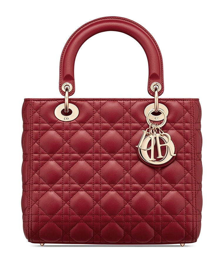 Lady Dior in Red 1