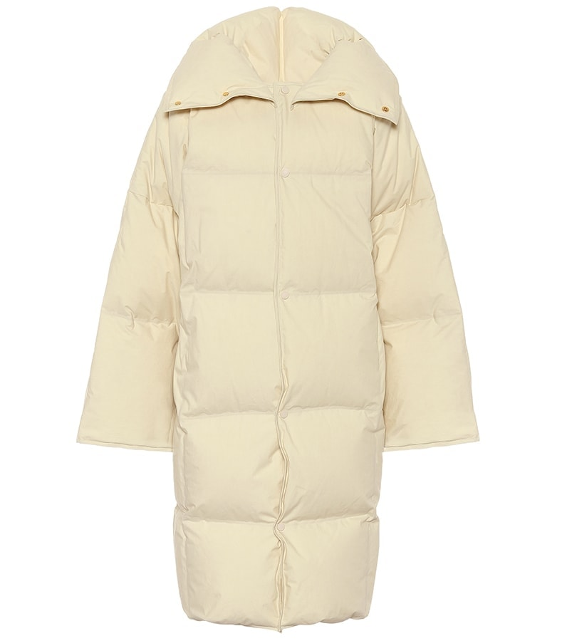 BOTTEGA VENETA Quilted cotton down puffer coat 2175 MT