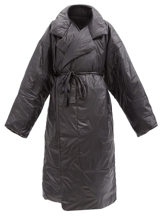 NORMA KAMALI Boyfriend Sleeping Bag oversized padded coat 940 MATCHES