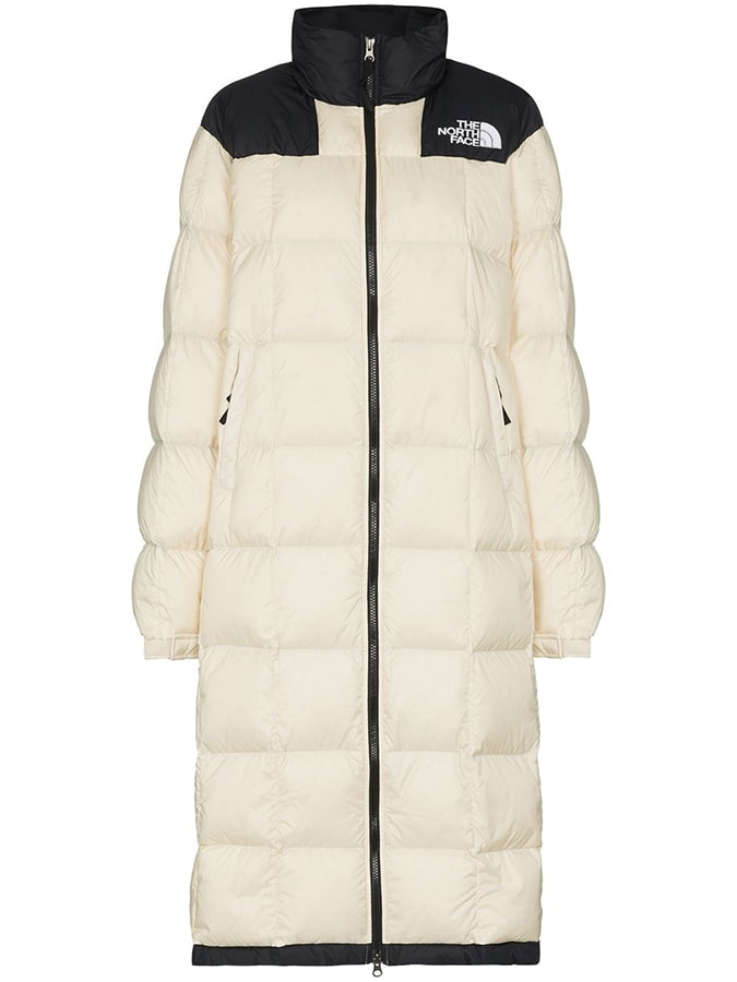 The North Face Lhotse long puffer coat 400 FAR