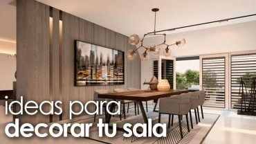 Ideas para decorar tu sala de estar