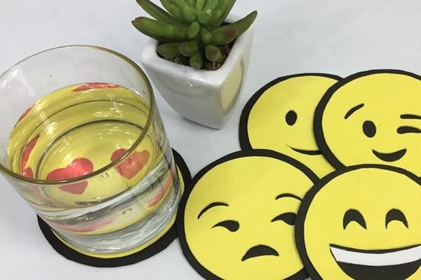 Porta vasos emoji