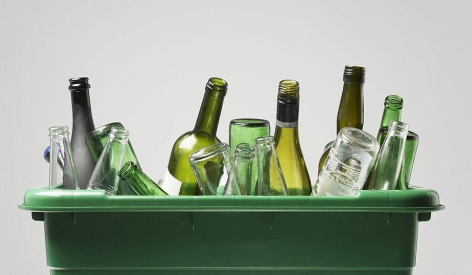 manualidades con botellas de vidrio