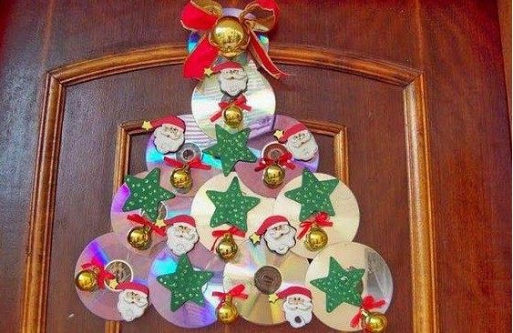 Arbol de navidad con cd