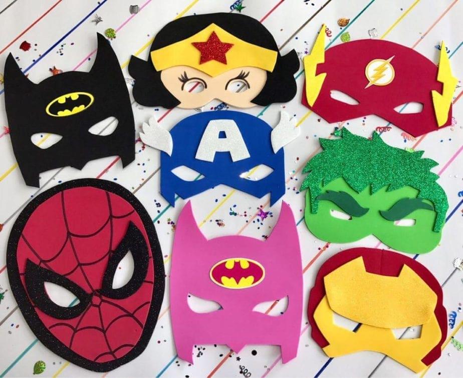 mascaras para niños