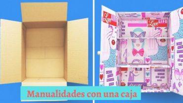 Manualidades con una caja