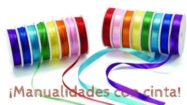 Manualidades con cinta