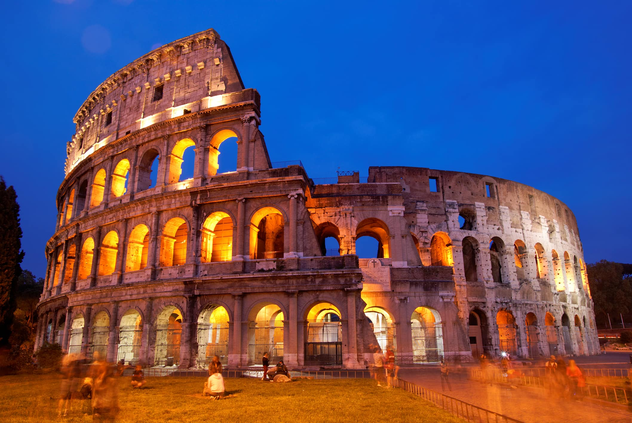 El coliseo de Roma