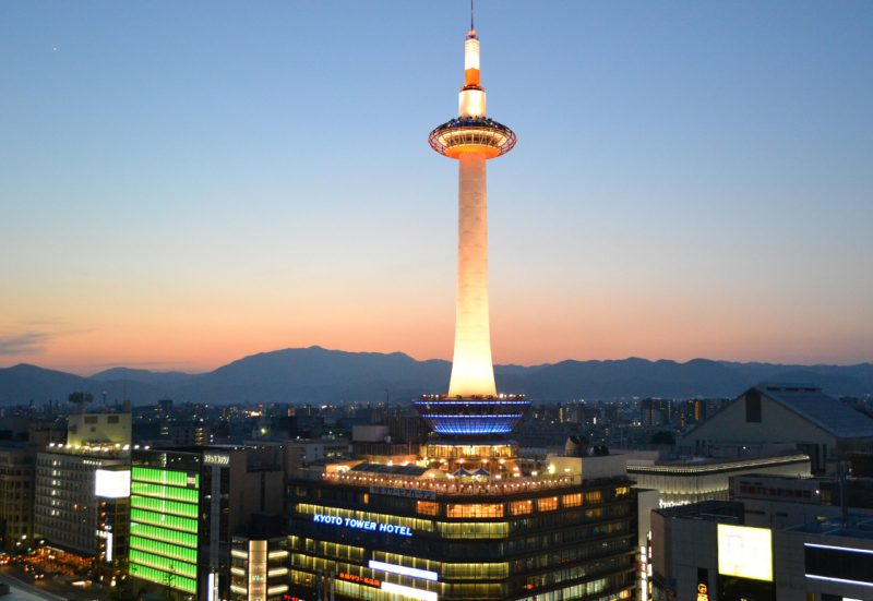 La torre de Kioto