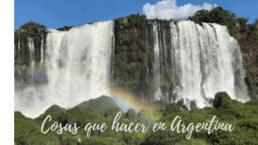 Cosas que hacer en Argentina