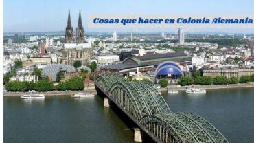 Colonia Alemania