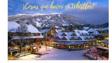¡Cosas que hacer en Whistler!