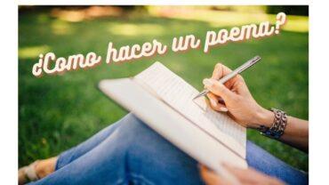 ¡Como hacer un poema!