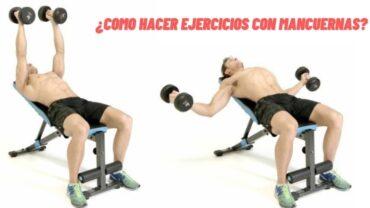 Como hacer ejercicios con mancuernas