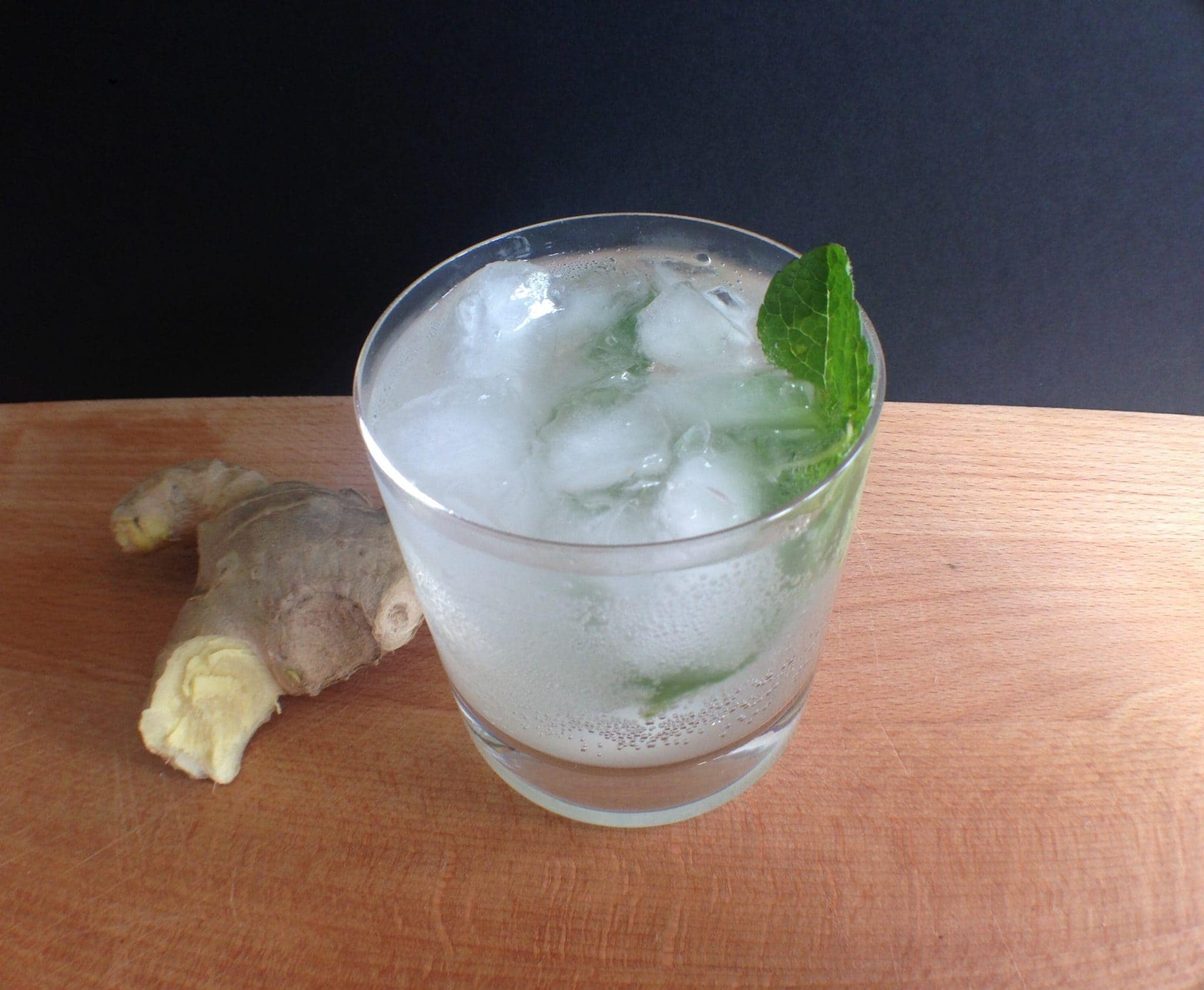 Ginger mint presse