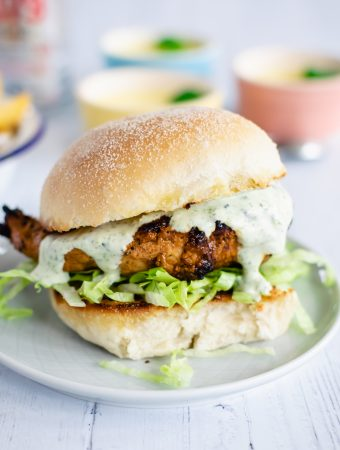 healthy grilled chicken sandwich recipe