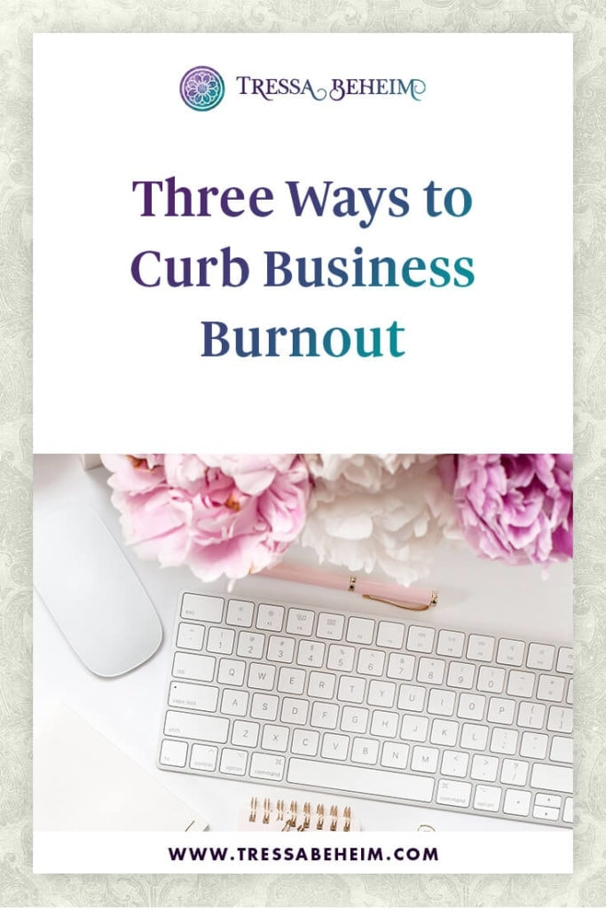 Avoid business burnout so you can thrive.