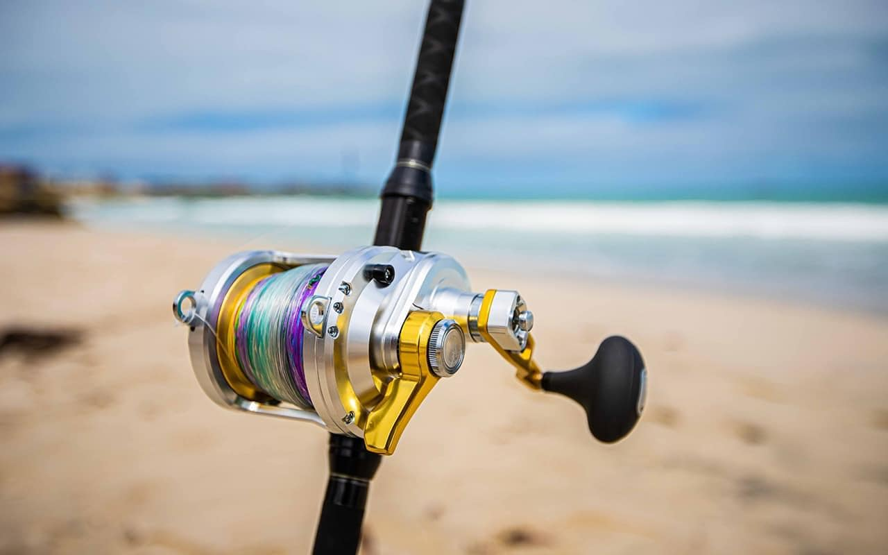 How To Drone Fish - Rod Reel Line