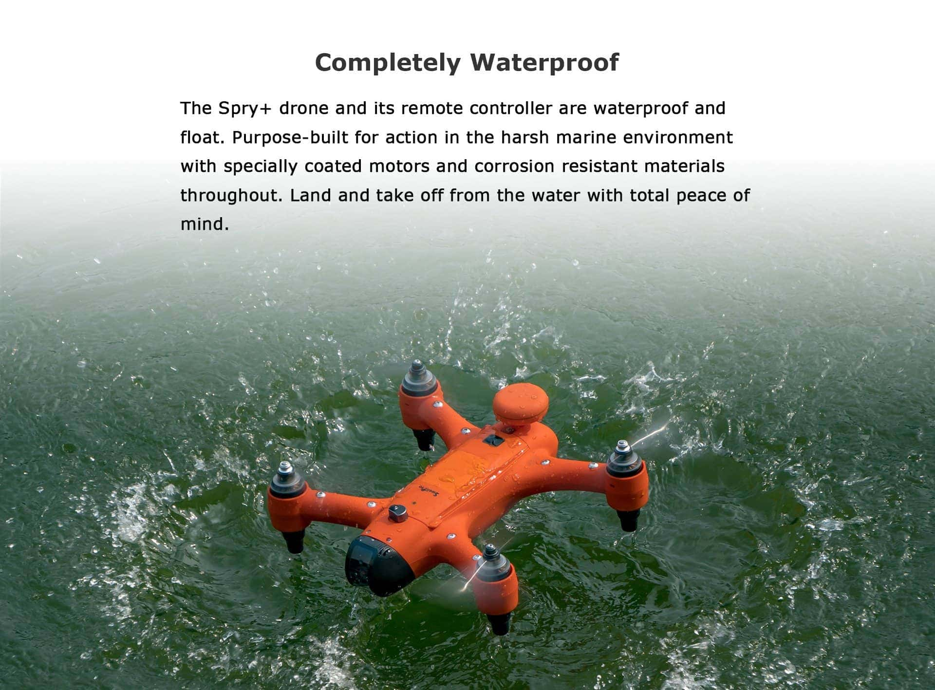 SwellPro - Spry+ a Completely Waterproof Drone
